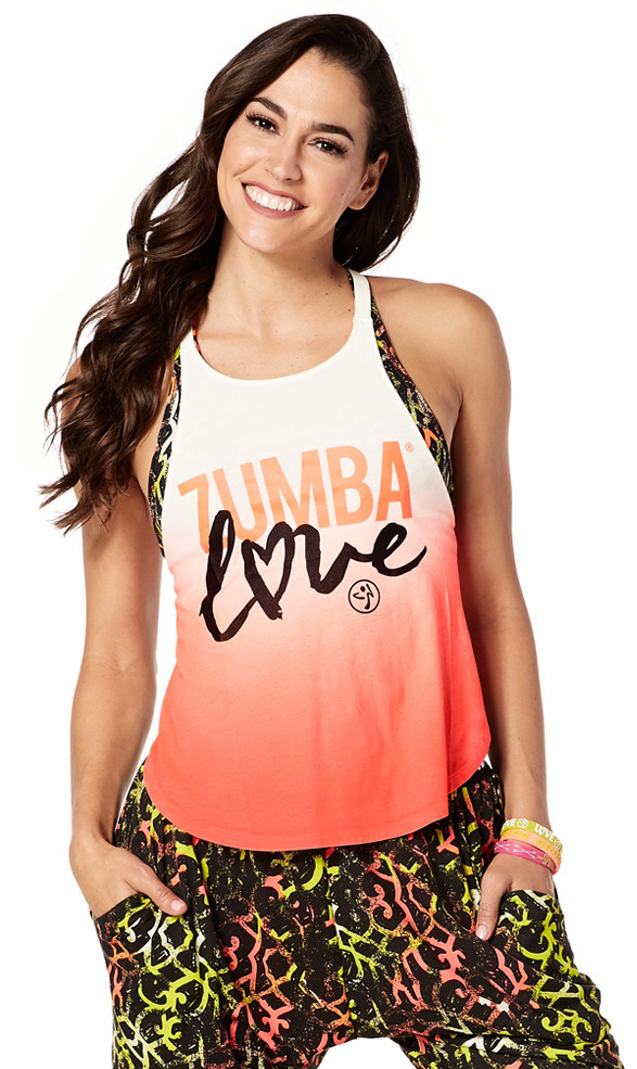 77c9fb24774b6 Zumba Love Open Back Tank - Zumba® Wear Türkiye